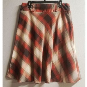 Dress Barn Plaid Skirt